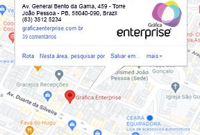Gráfica EnterPrise - Localização